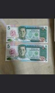 1987 Philippines 5 peso
