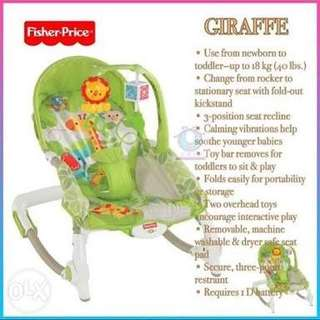 Fisher Price Newborn to Toddler Rocker and Bouncer