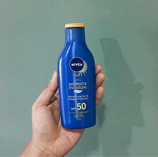 Nivea Sun Protect & Moisture Lotion SPF 50