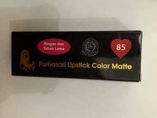 Purbasari Lipstick no. 85