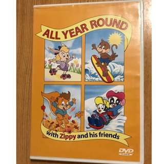 Zippy and his friends, All year round, DVD