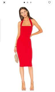 Nookie Boulevarde Cherry Midi Dress. New with tags.  Size Large
