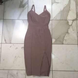 HONEY Bandage Bodycon Dress