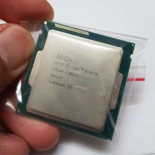 Intel i5-4570 Processor Only