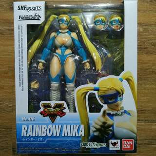 S.H. Figuarts - Rainbow Mika Street Fighter V