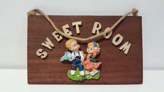 Wooden Room Plate