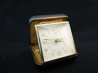 Vintage Velina 2-jewels Travel Alarm Clock