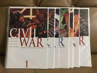 Civil War #1-7