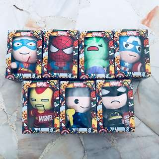 (INSTOCKS) Marvel Character Stuff toy