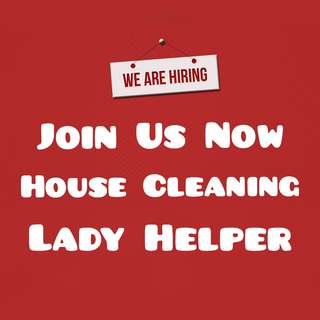 Looking for Cleaning Lady Islandwide