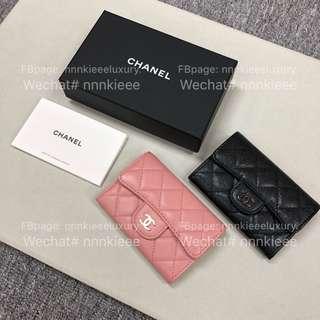 💋5️⃣2️⃣0️⃣💋5️⃣2️⃣0️⃣💋5️⃣2️⃣0️⃣💋 ☺️Chanel 超級長青Classic card holder