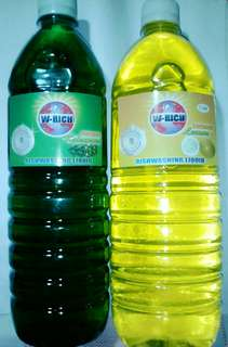 Dishwashing liquid 1 liter. P45.00 per liter