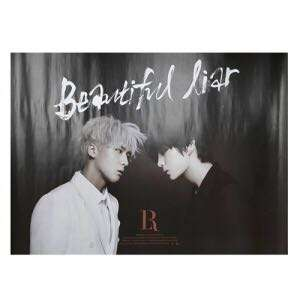 Quick preorder! Official [POSTER] VIXX LR 1ST ALBUM BEAUTIFUL LIAR POSTER