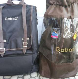 "Gabag 16"" laptop back pack with cooler slot"