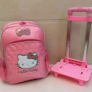 Hello Kitty Trolley Bag