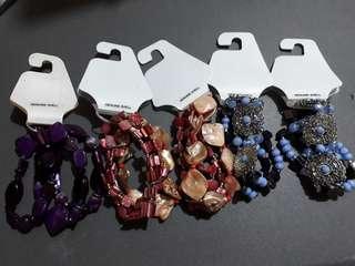 Bracelets genuine shell coral 500/each