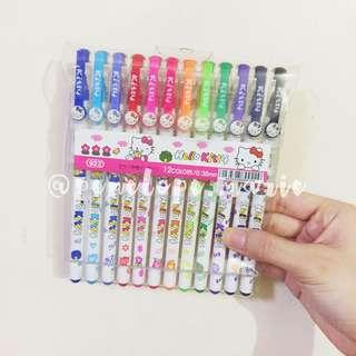 Hello Kitty Gel Pen Set + Free Shipping*