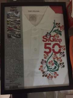 SG 50 AUTHENTIC AND 100% REAL T-SHIRT