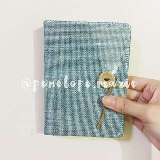 Woven Paper Journal (Blue Green) + Free Shipping*