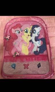 Instock authentic my little pony bag brand new ht 40.5cm