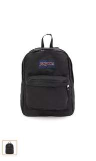 Jansport Bag (BLACK) T501 Authentic Superbreak Backbag