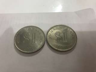 Malaysia 1971 and 1981 old coins