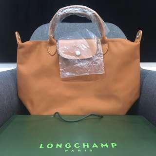 Authentic Longchamp Pliage Neo in Caramel
