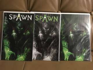 Spawn #284 Mattina variants