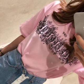 Off white pink tee