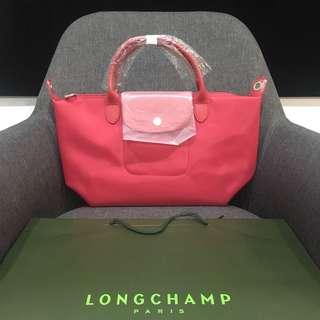 Authentic Longchamp Pliage Neo in Pink