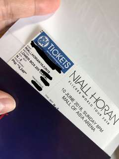 Niall Horan LOWERBOX205 lower price near stageflickertourmnl niallhoranmnl