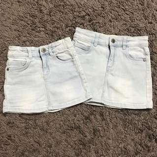 Skirt Jeans (3yrs& 6yrs)