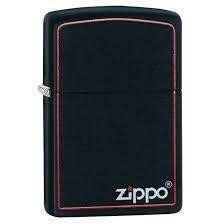Classic Black Red Zippo (218 ZB)