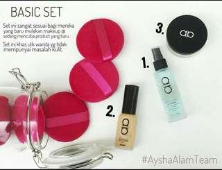 Alha Alfa Limited Edition Glow Basic Set