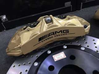 W204 Amg Caliper Front  355mm Full set