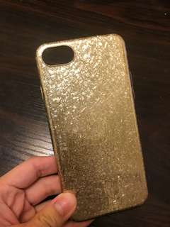 全新iphone 7 淡金色手機保護殻電話殻