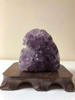 烏拉圭紫水晶晶陣