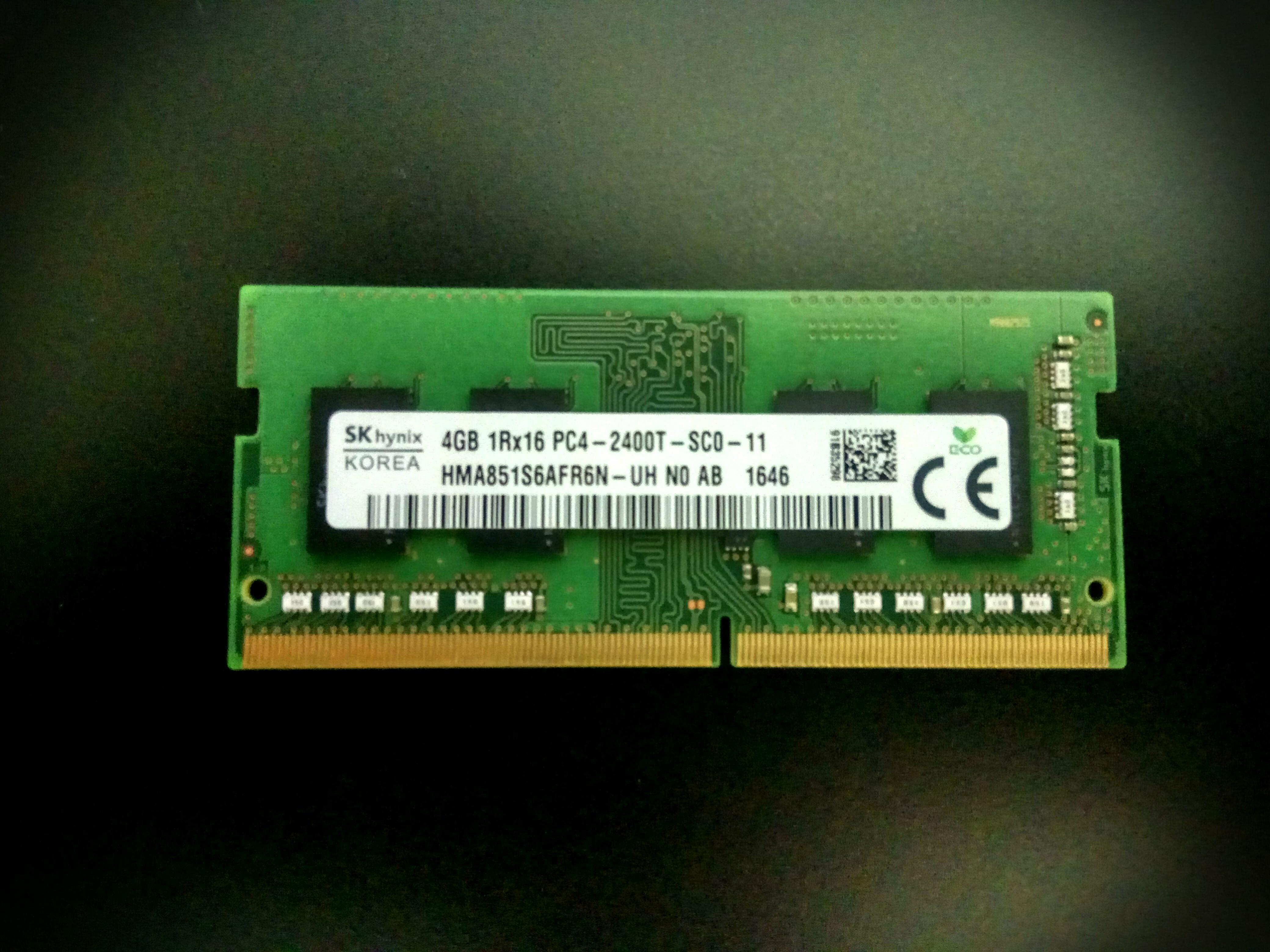 4GB DDR4 SDRAM 2400MHz