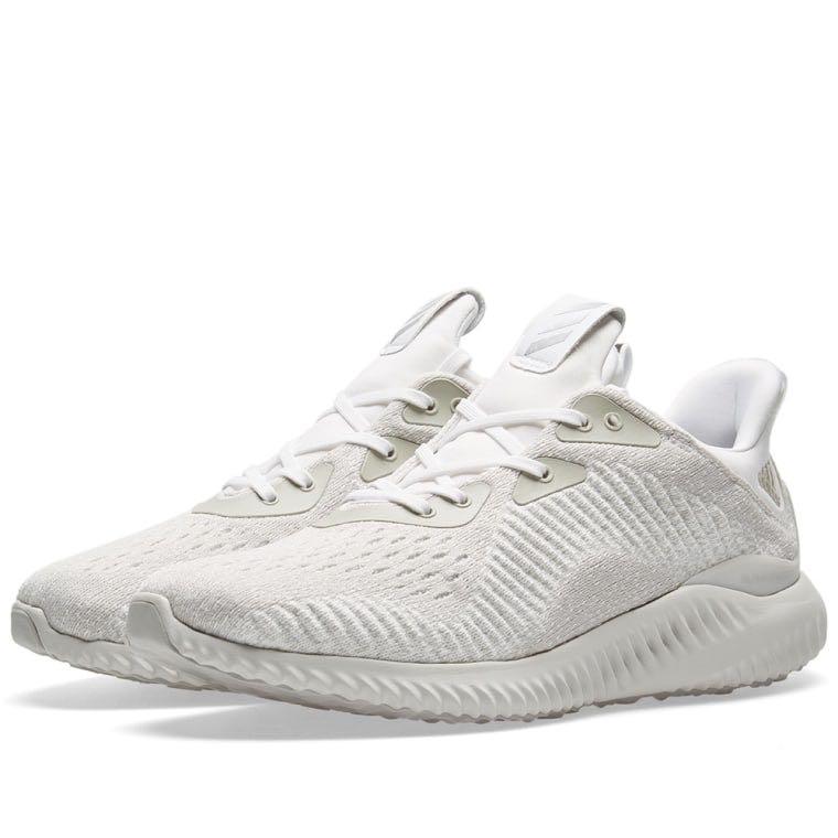 Adidas alphabounce em white / argento / biancastro, moda maschile
