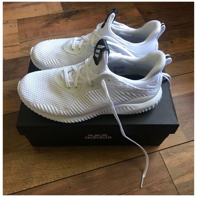 Adidas Alphabounce White Womens