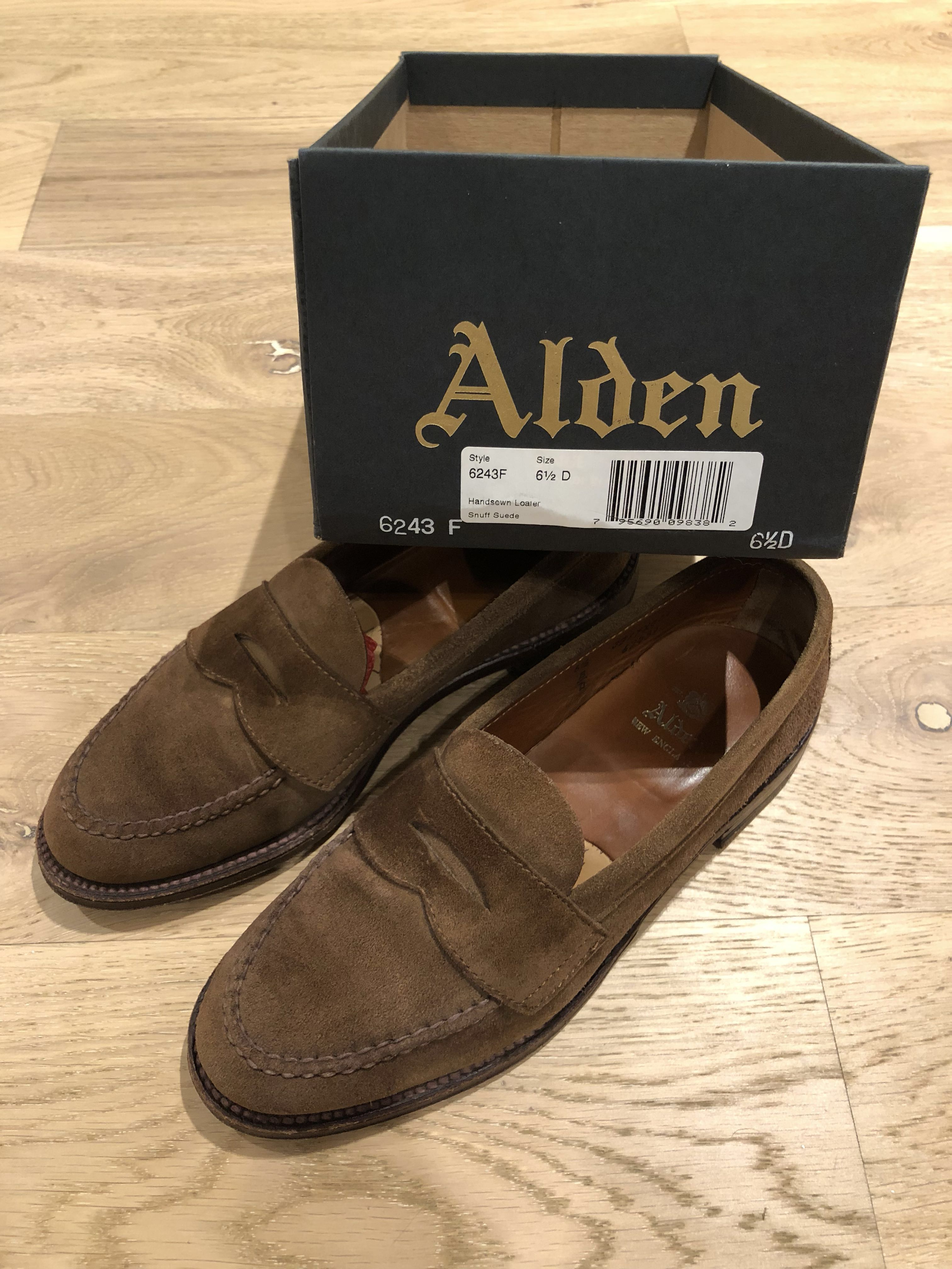 f1d261c80c1 Alden Snuff Suede Unlined Loafer