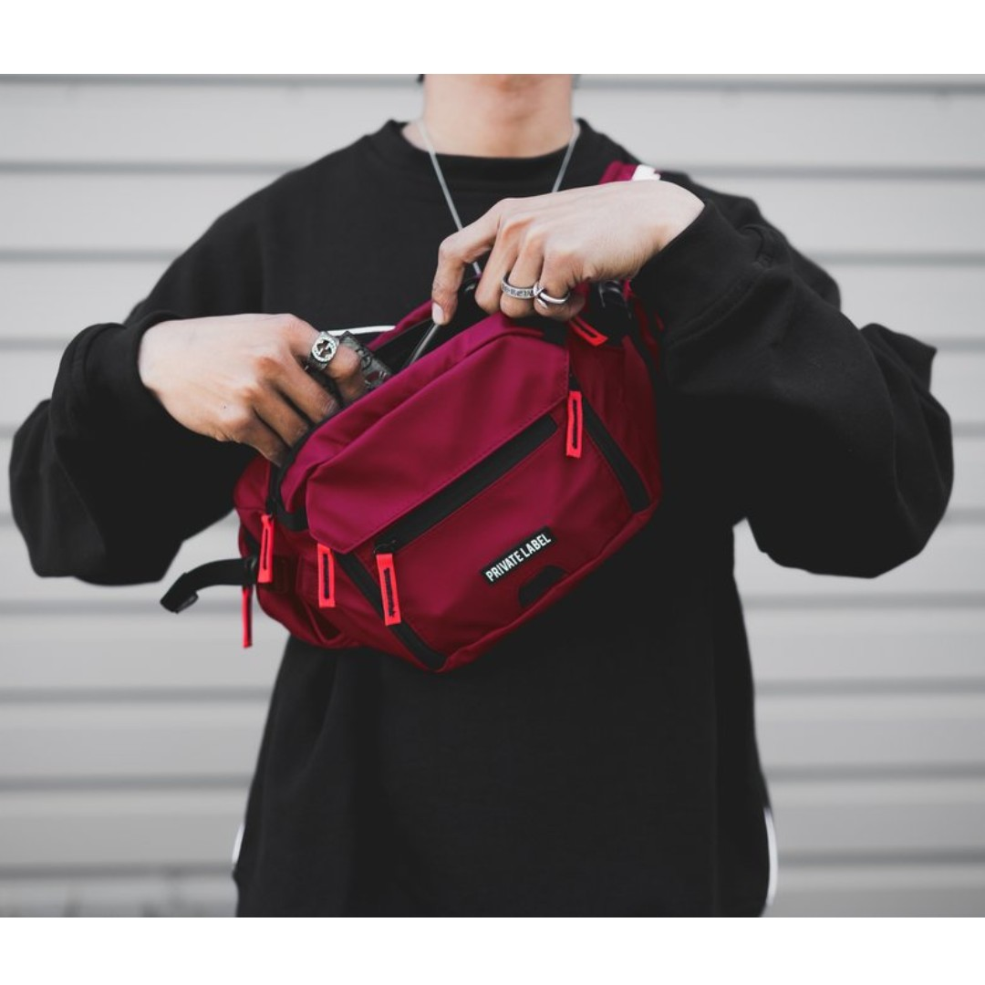 This is a graphic of Intrepid Private Label Waist Bag