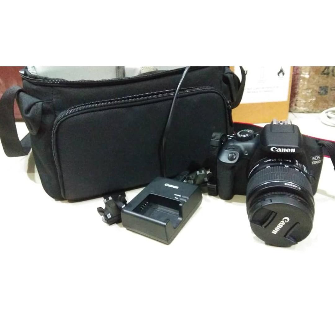 Canon EOS 1300D - 18-55 Lens - Condition Tiptop 10/10