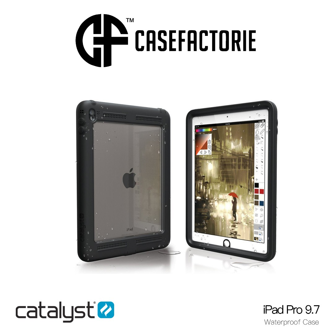 Catalyst Waterproof Case For Ipad Pro 97 Mobiles Tablets Mobile Spigen Rugged Armor Original Casing Photo