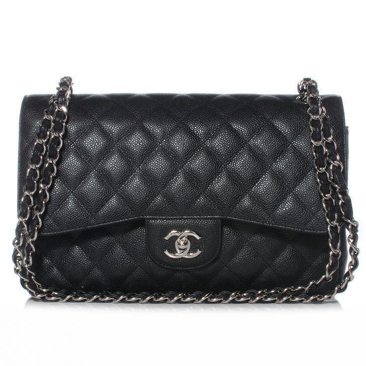 eafb9535835b Chanel Classic Single Flap Jumbo SHW, Luxury, Bags & Wallets ...