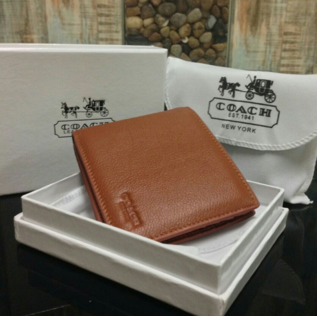 f044f4f154 COACH Signature mens wallet