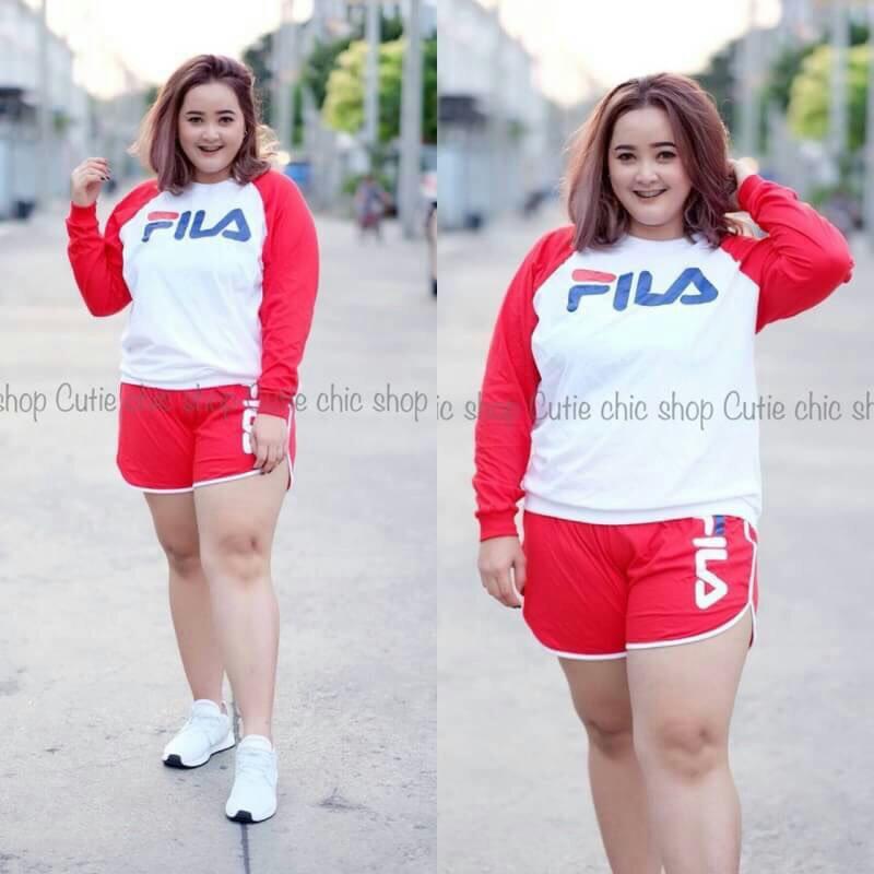 Discover verschillende ontwerpen nieuw goedkoop Fila set ; plus size ; f@, Women's Fashion, Clothes, Others ...