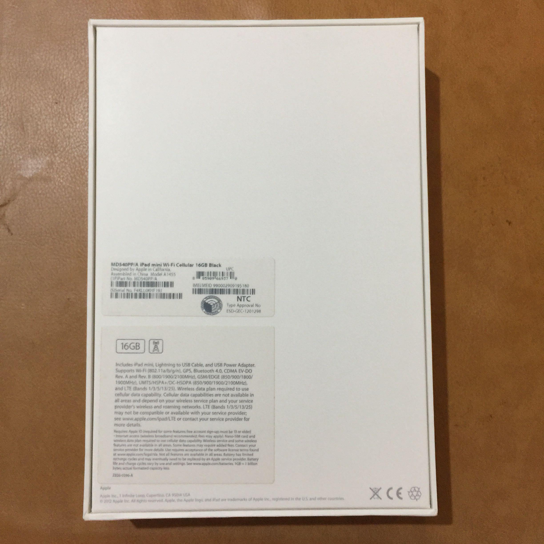 Ipad Mini Wi Fi Cellular 16gb Black Apple Wifi Electronics Computers Tablets On Carousell