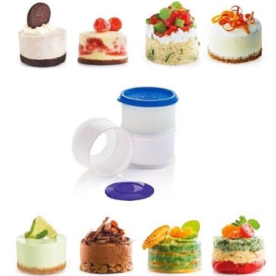 Magic Tower Dessert Mold (Tupperware Euro), Kitchen & Appliances on Carousell