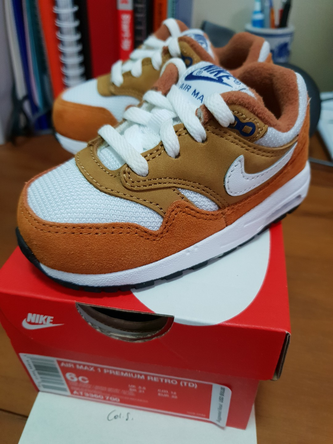 new product 0a6cc 991ba Nike Air Max 1 Premium Retro Curry, Babies   Kids, Babies Apparel on ...
